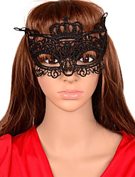 Women's Sexy Cut Out Crown Lace Party Mask