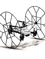 ciel h1 marcheur 2.4ghz 4 canaux mur d'escalade mini rc ufo quadcopter avec le compas gyroscopique