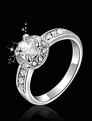 T&C Glaring Crystal Sparkling Ring TCR0004B1