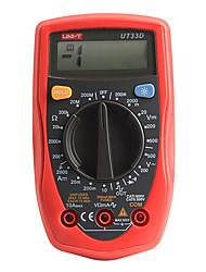 UNI-T UT33D Ручной Вольтметр Амперметр Ом Тест метр Цифровой мультиметр с ЖК-дисплеем