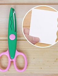 Scrapbooking DIY Photo Lace Scissors(Green)