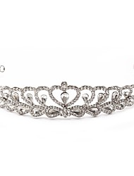 Women's/Flower Girl's Alloy/Cubic Zirconia Headpiece - Wedding/Special Occasion/Outdoor Tiaras/Headbands