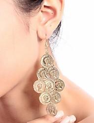 Dance Accessories Jewelry Women's Metal Coins Tassel(s) Christmas Halloween