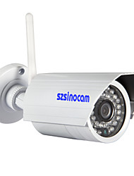 Sinocam® Wireless Wifi Waterproof IP Camera (1.0 Megapixels, P2P, IR-CUT, Support Onvif),P2P