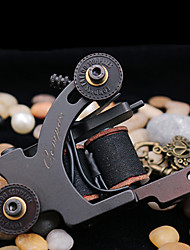 Compass® Tattoo Machine Cebu Shader 10 Wraps Steel Frame