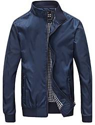 Duobilun Man's Stand Collar Jacket