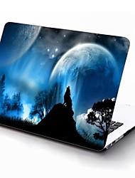 diseño lobo salvaje de cuerpo completo caja de plástico de protección para 11 pulgadas / 13 pulgadas El nuevo iPad