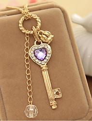 Women's Alloy Necklace More Colors