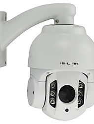 2 Megapixels 1080P 10X Zoom Infrared HD IP Middle Speed Dome Camera,4inch Mini IP PTZ Camera