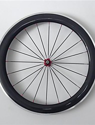 AURORA RACING Road 60C-25mm Carbon Clincher Road Bike Wheels With Alloy Brake