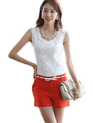 Women's Tops & Blouses , Lace Casual Fangyage