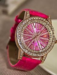 Rocky Women's Fashion High Grade Rhinestone Quartz Watch (Assorted Colors)