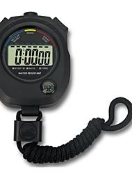 Outdoor Waterproof Multifunction ABS Case Sport Stopwatch