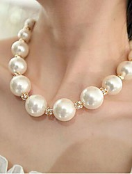 Shixin® Sweet Pearls Necklace (White) (1 Pc)