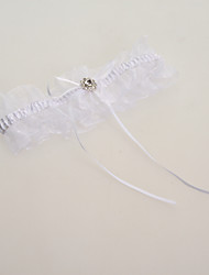 Garter Lace Ribbons Blue