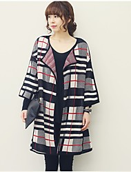 Xier Fashion Check Sweater