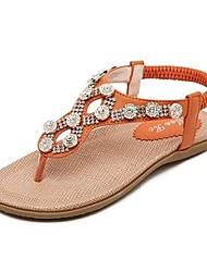 zapatos de las mujeres de las sandalias de tacón slingback planas de los zapatos más colores disponibles