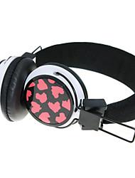 WZS ergonomique casque stéréo salut-fi avec micro microphone (noir)