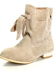 Women's Shoes Fashion Flat Heel  Faux Suede Ankle Boots More Colors available