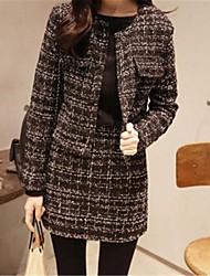 coco schattige klassieke tweed pak