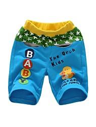 100% katoen borduurwerk shorts jongen in de zomer