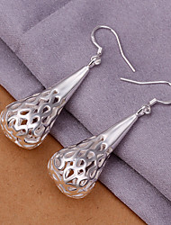 Fashion Teardrop Cut Out Sweet Earrings