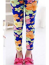 Girl's Fashion Flower Leggings  Lovely Princess Leggings