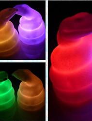 comodo doce serpiente del zodiaco colorida luz LED