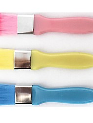Plastic Handle Mask Brush (3 Selectable Colors)