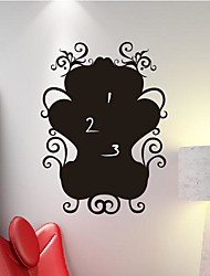Wall Stickers Wall Decals, Retro Blackboard with pattern PVC Wall Stickers