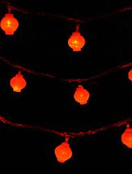 LED String Light 80 Lights Modern Lantern Shape Plastic 10m 220V