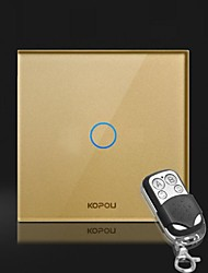 KOPOU Modern Style Glass Touch Switch (Touch with remote control)
