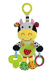 Babyfans ™ Baby Cute Cow Cartoon Stuffed Music Toys
