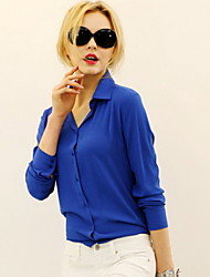 Women's T-Shirts , Chiffon Casual Coolcube