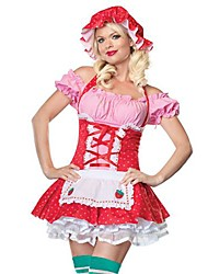 Performance Naughty Straberry Country Girl Costume
