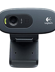 Logitech C270 3.0 Megapixels USB Drive-free Webcam with Microphone