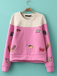 o-cou patchwork broderie sweat skymoto®women