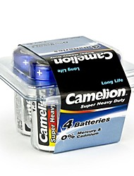 Camelion Super Heavy Duty C Size Battery in Plastic Box of 4 PCS