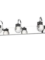 Lámparas de pared, 3 luz, artístico Acero inoxidable Recubrimiento MS-5770