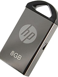 hp 2.0 flash drive 8gb usb ferro mini-homem v221w