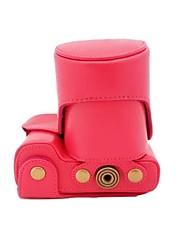 dengpin® Leder Schutzkameraabdeckung Case Tasche für Sony alpha A6000 mit 18-55 mm oder 16-50mm oder 2,8 / 16 Objektiv