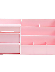 Makeup Storage Cosmetic Box / Makeup Storage Solid 35.5 x 22.5 x 16.5 Pink