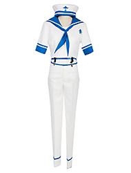 grátis! colegial traje do marinheiro traje cosplay iwatobi