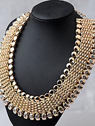Moon Year Women's  Vintage Diamante Necklace