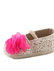 Chaussures bébé Robe Coton Ballerines Blanc