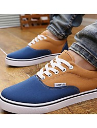 Scarpe da uomo Casual Similpelle Sneakers alla moda Giallo/Rosso/Grigio/Kaki