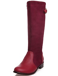 Women's Shoes Tianli Fashion Low Heel Knee High Casual Boots More Colors available