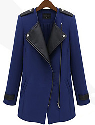 Fashion Fitted Long Sleeve Coat
