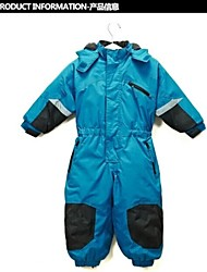 Ski Wear Winter Jacket / Coveralls / Clothing Sets/Suits Kid's Winter Wear Nylon Winter ClothingWaterproof / Breathable / Thermal / Warm