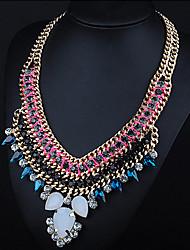 Lua ano liga jóia colar das mulheres